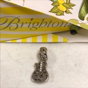 🆕listing! Brighton silver guitar charm